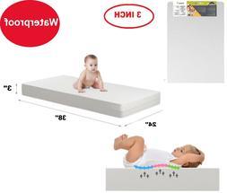 Baby Crib Mattress Firm Toddler Waterproof Infant Comfort Sa