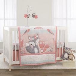 3 Piece Crib Bedding Set Comforter Fitted Crib Sheet Bedroom
