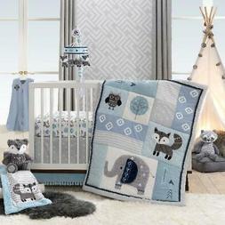 "4-Piece Crib Bedding Set Quilt Comforter fits 28""x52"" Baby T"