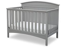 Archer 4-in-1 Convertible Crib, Grey