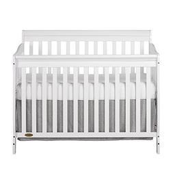 Dream On Me Ashton 5 in 1 Convertible Crib, White