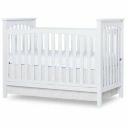 Dream On Me Cape Town 5-in-1 Convertible Crib in White