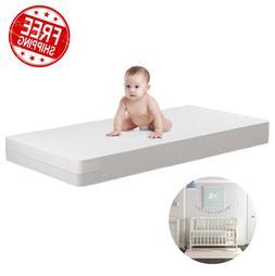Waterproof Crib Mattress Child Bed Baby Comfort Toddler Safe