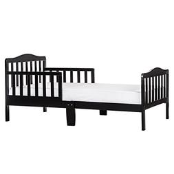 Dream On Me Classic Toddler Bed in Black