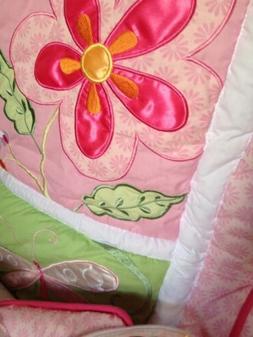 Sealy Crib Mattress/ Mattress Pad,3 Sheets, Comfoter, Skirt,