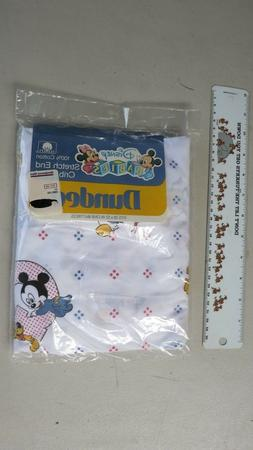 Dundee Disney Babies Fitted Crib Sheet 1984 Vintage NEW 28""