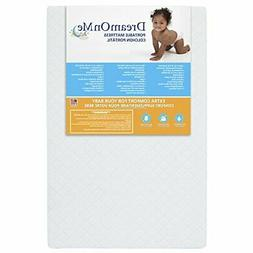Dream On Me, Sunset 3 Extra Firm Fiber Portable Crib Mattres