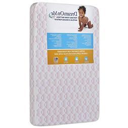 Baby Foam Crib Mattress Antibacterial Waterproof Cover Toddl