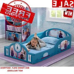 Girls Disney Frozen 2 Anna And Else Toddler Bed Kids Childre