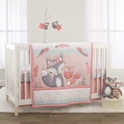 3 piece crib bedding set comforter fitted