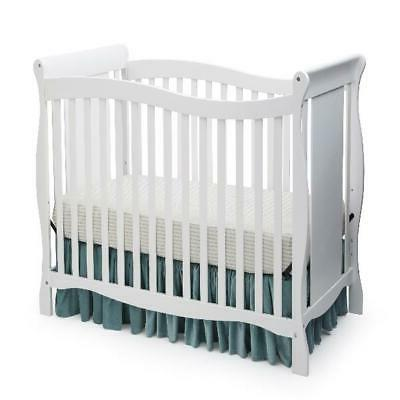 4 In 1 Convertible Crib Baby Toddler Wooden Bed Sturdy 3 Pos
