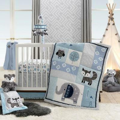 4 piece crib bedding set quilt comforter