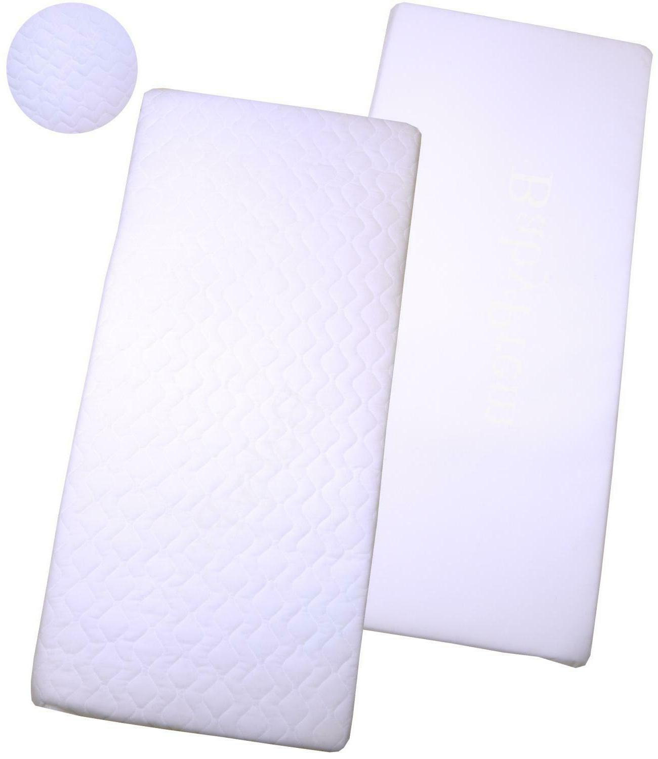 89 x 38cm crib mattress quilted or