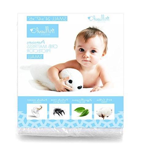 Milliard Hypoallergenic Kids Crib Mattress Protector - Europ
