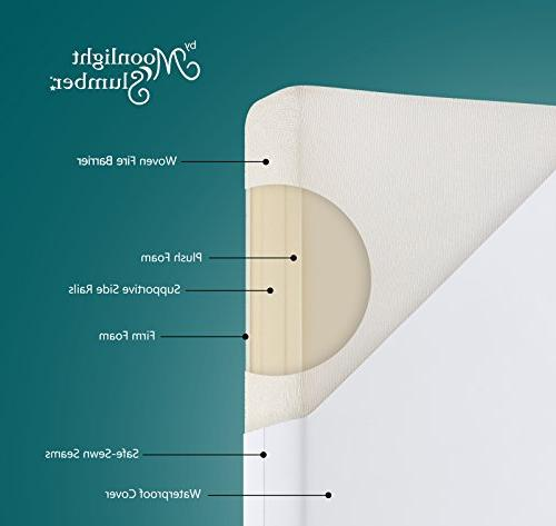 Moonlight Slumber Breathable Sided Firm Sided for Reverse Side for Bed. to Waterproof and Odor