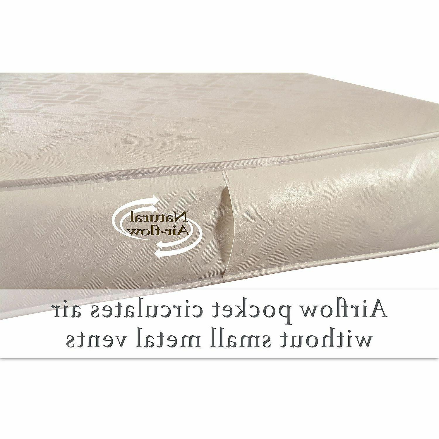 Sealy Baby Rest Crib and Bed Mattress