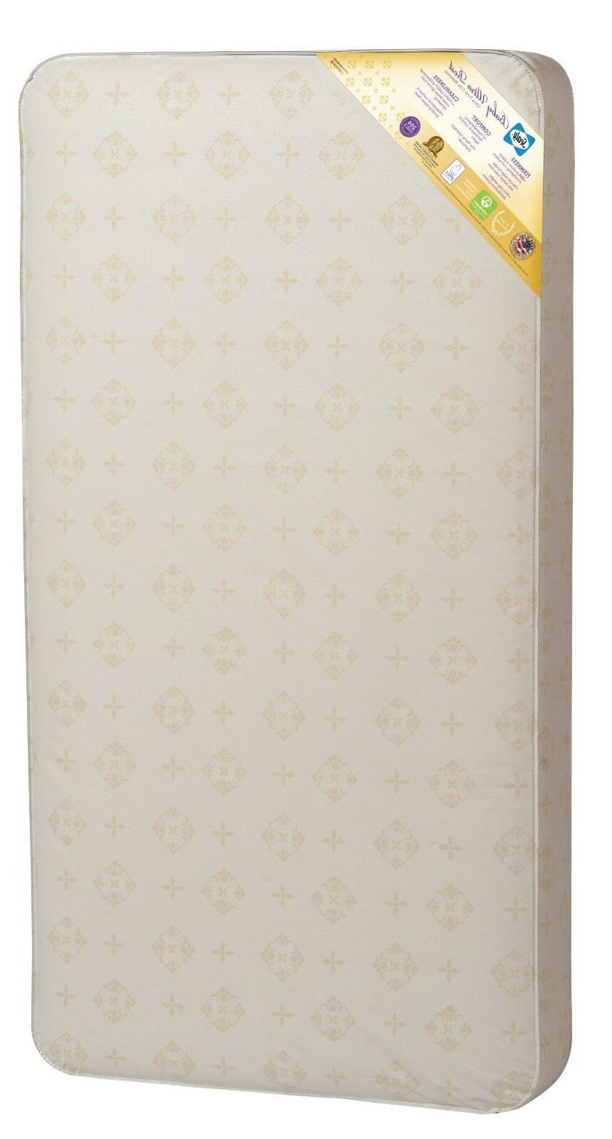 Sealy Baby Ultra Rest Crib and Toddler Bed Mattress
