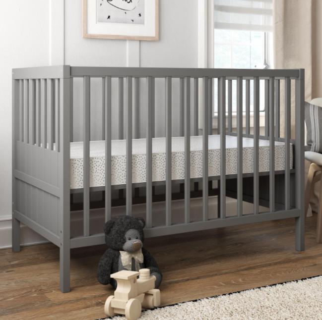 "Baby Crib Firm Toddler Waterproof Bed Comfort 52""x28"""