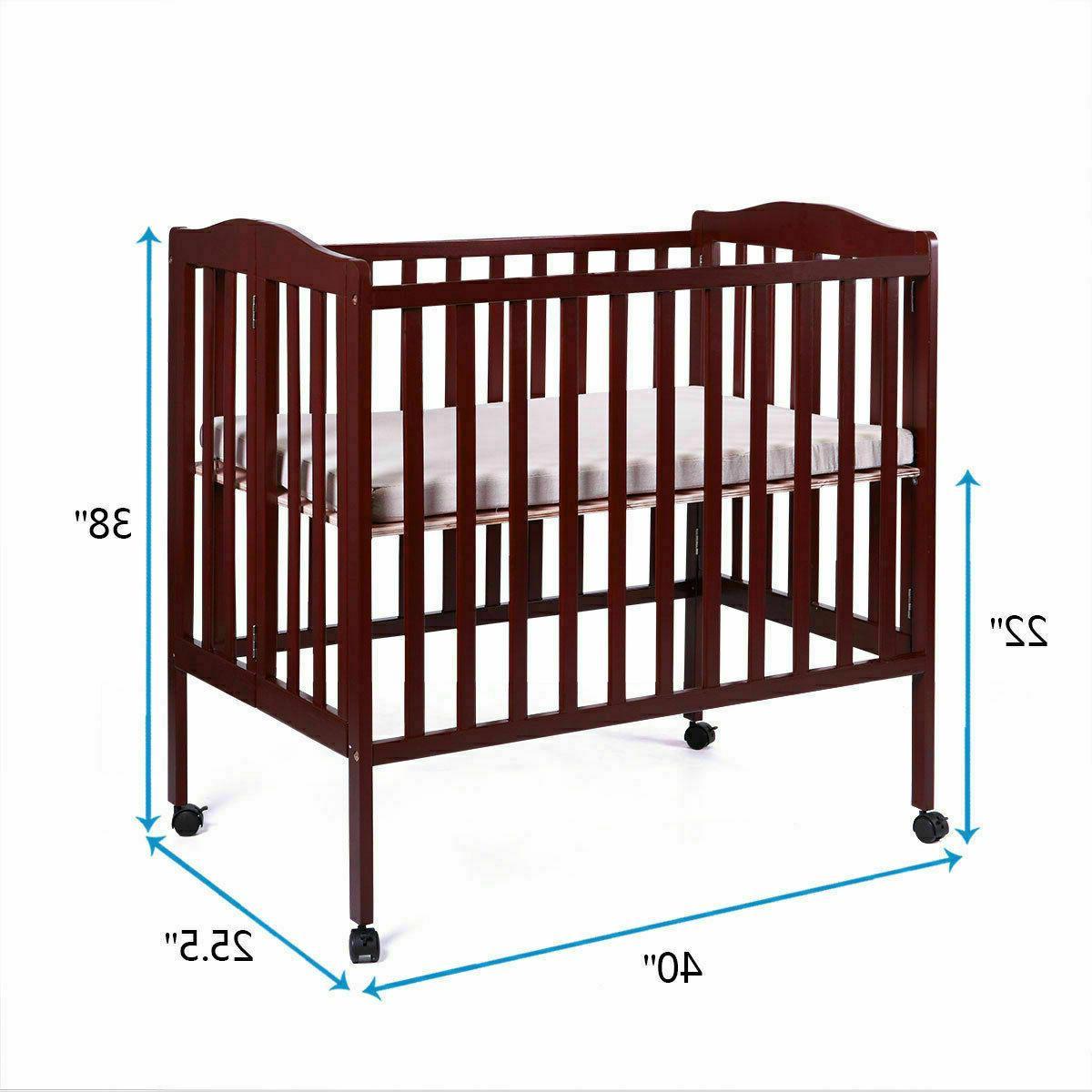 TOBBI-SAFE Baby Bed Infant