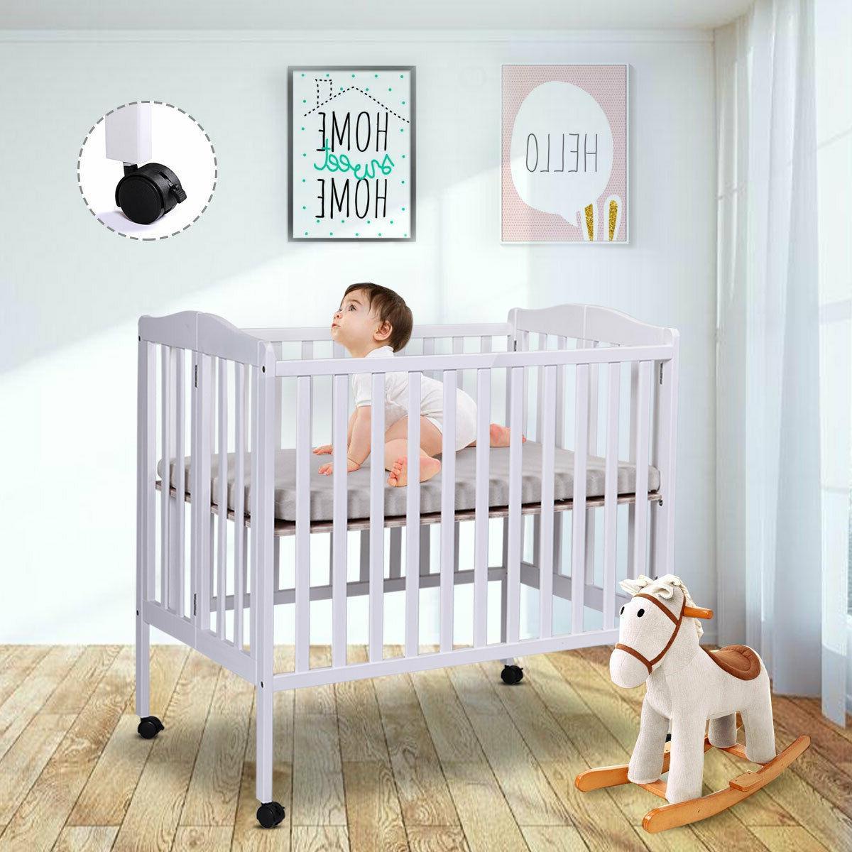 TOBBI-SAFE Nursery Bed Infant w/Mattress