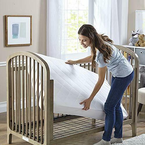 Hypoallergenic Crib Mattress Pad/Protec