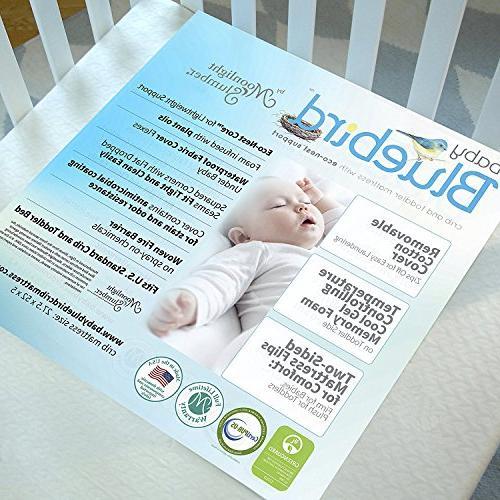 Plush Baby Mattress: Controlling Foam, EasyClean. USA