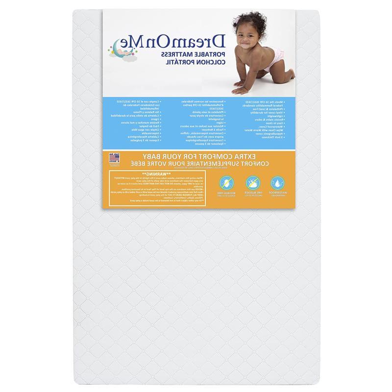 hypoallergenic premium memory foam toddler bed