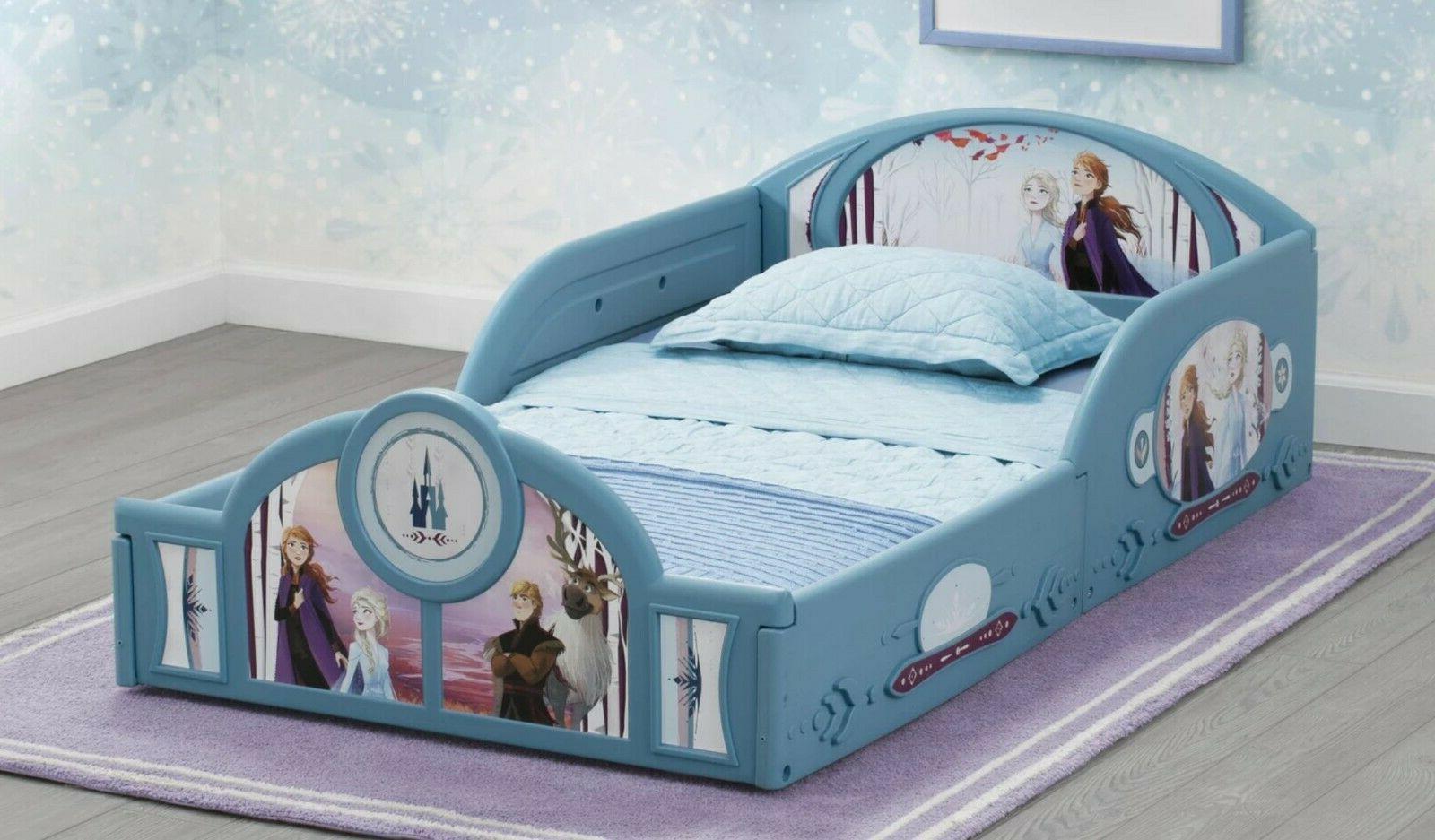 Girls Disney Frozen Anna And Else Bed Kids Children New