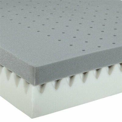 """Graco 6"""" Foam and Toddler Mattress White"""