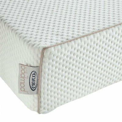 """Graco 6"""" Foam Crib and White"""