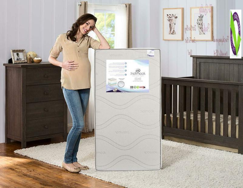 Serta Icomfort Dawn Firm Memory Crib And Waterproof