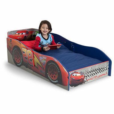 Lightning McQueen Cars Wooden Disney Pixar Toddler Bed Sleep