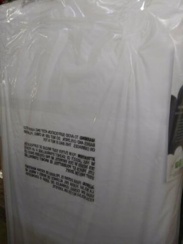 NATUREPEDIC LIGHTWEIGHT DUAL SIDED ORGANIC COTTON plastic