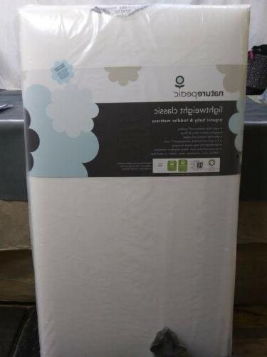 lightweight dual sided organic cotton mattress in