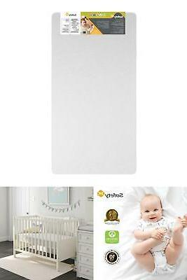 lightweight toddlers crib 5 inches memory foam
