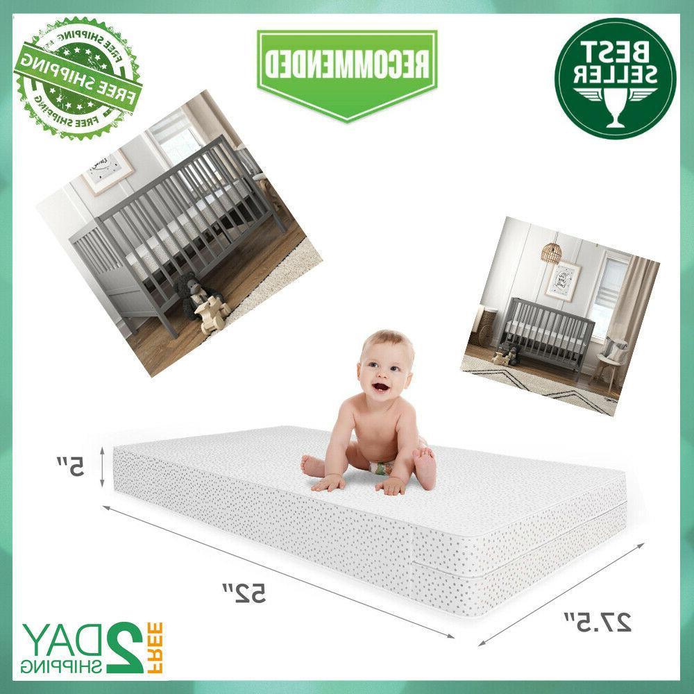 mattress crib foam toddler bed baby waterproof