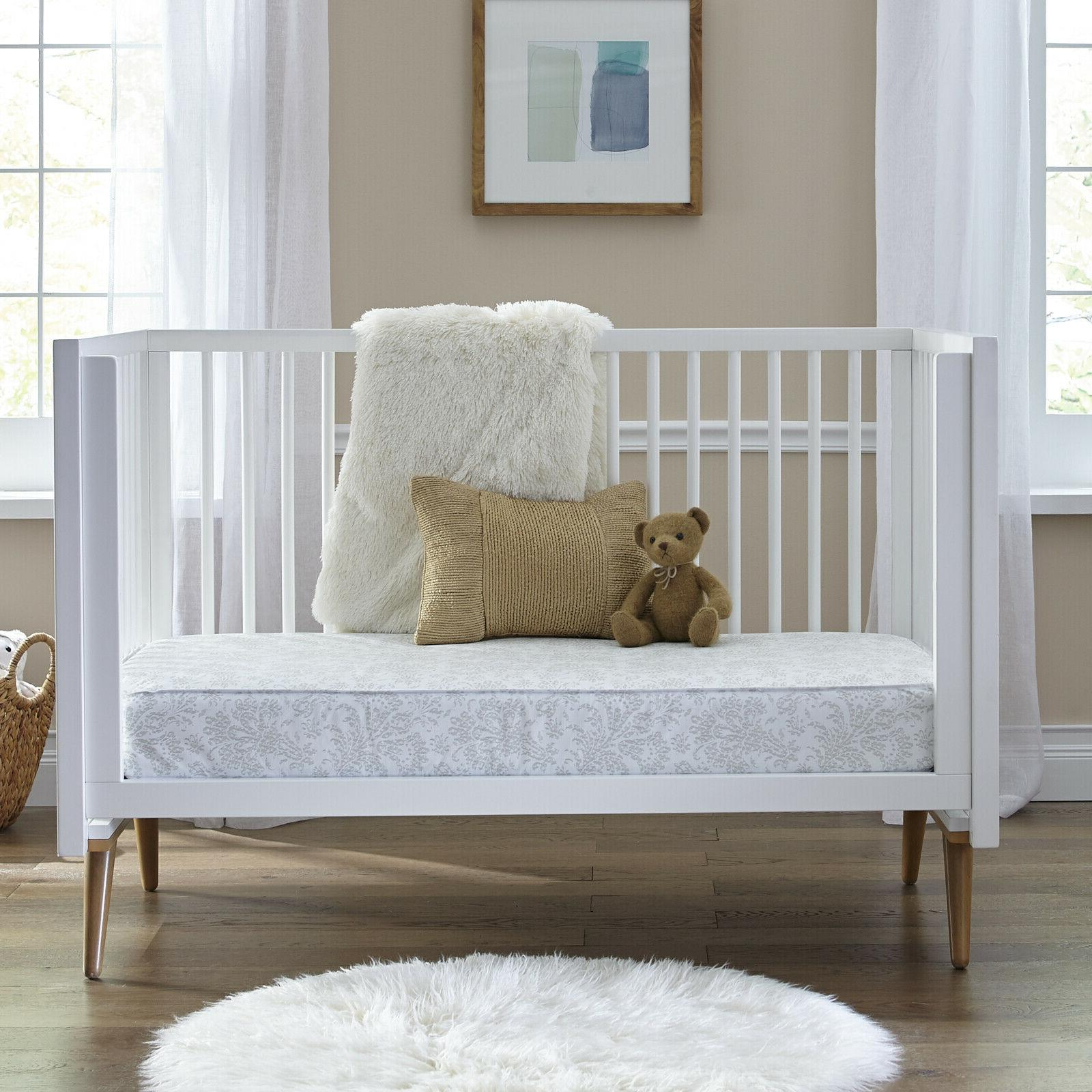 Sealy Ortho Rest Toddler Mattress 150 Waterproof Gray