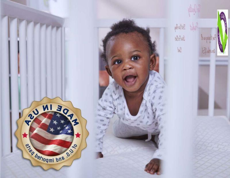 Sealy Serenity Foam-Core Infant/Toddler Crib Mattress Hypoallernic
