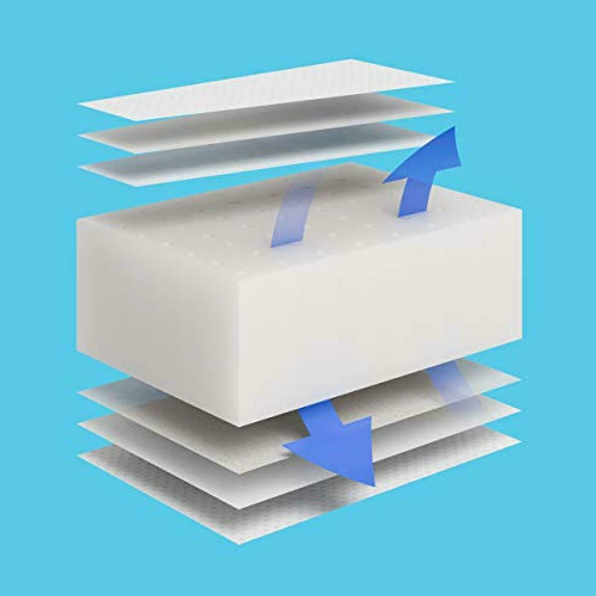 Premium Foam Bed Mattress Removable