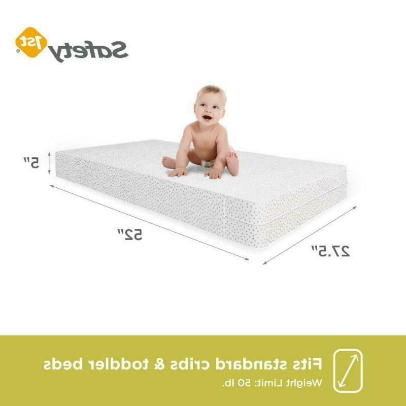 Standard Baby Mattress Child Crib Waterproof