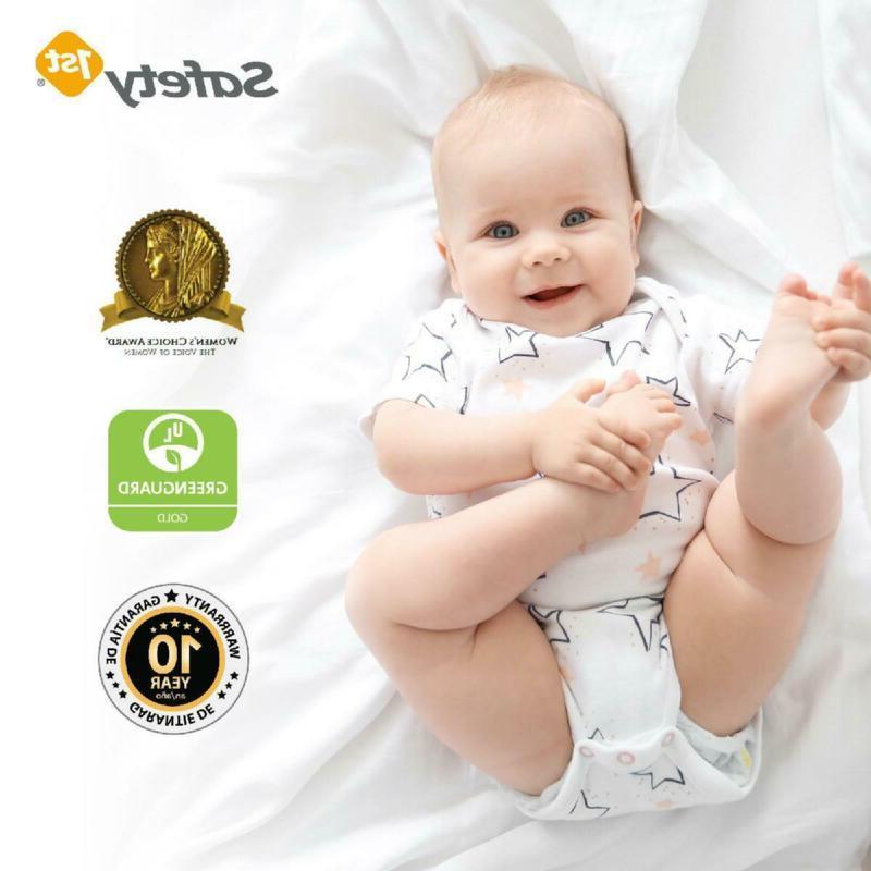 New Child Crib Firm Baby Toddler Infant Comfort White