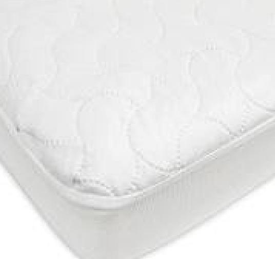 waterproof fitted crib toddler protective mattress pad