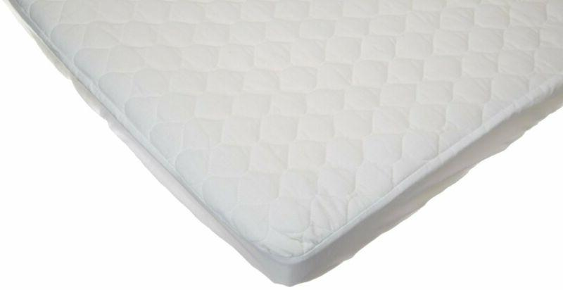waterproof fitted quilted portable mini crib mattress