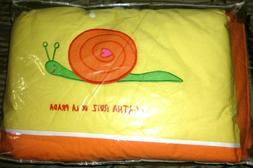 Mattress and Bumper Baby Crib Yellow Bedding Sets by Agatha