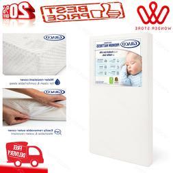 Graco Premium Foam Crib and Toddler Mattress in a Box–Non-