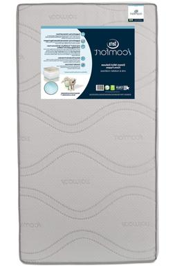 Serta Icomfort Dawn Mist Deluxe Firm Memory Foam Crib And To