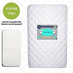 New Soft Crib Mattress Cover Playpen Waterproof Hypoallergen