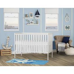 SynergyConvertible Crib, White