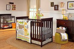 zoobilee crib bedding set